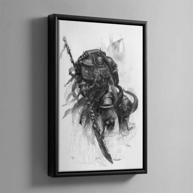 Grey Knight – Framed Cnavs