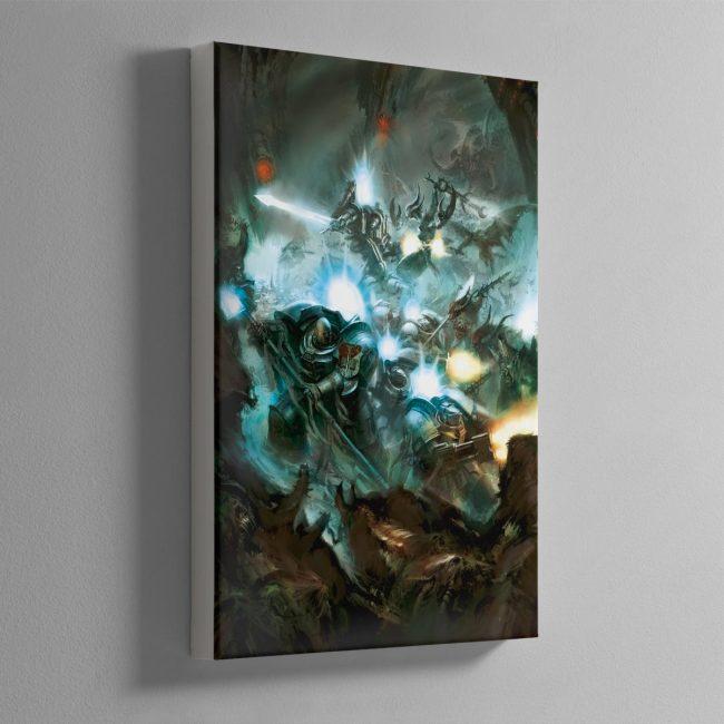Grey Knights – Canvas