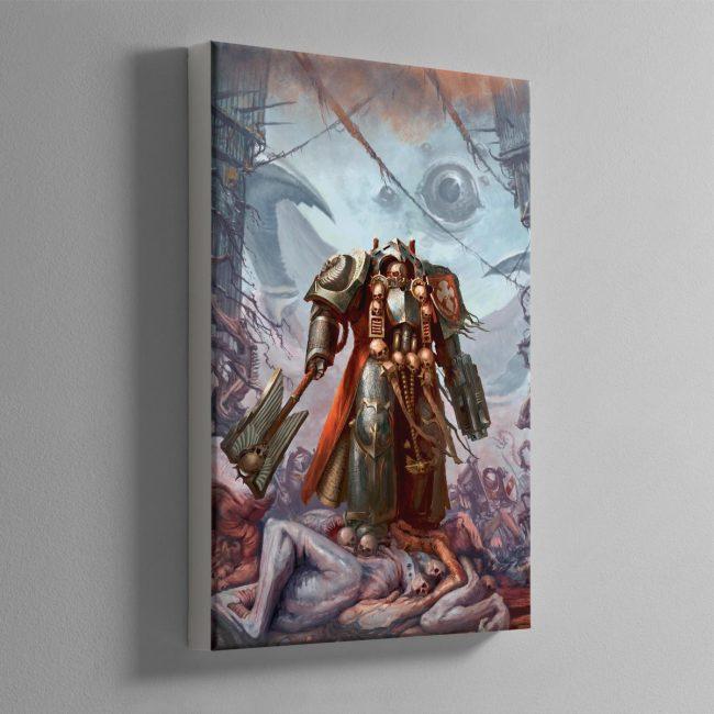 Grey Knights Chaplain – Canvas