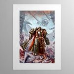 Grey Knights Chaplain – Mounted Print