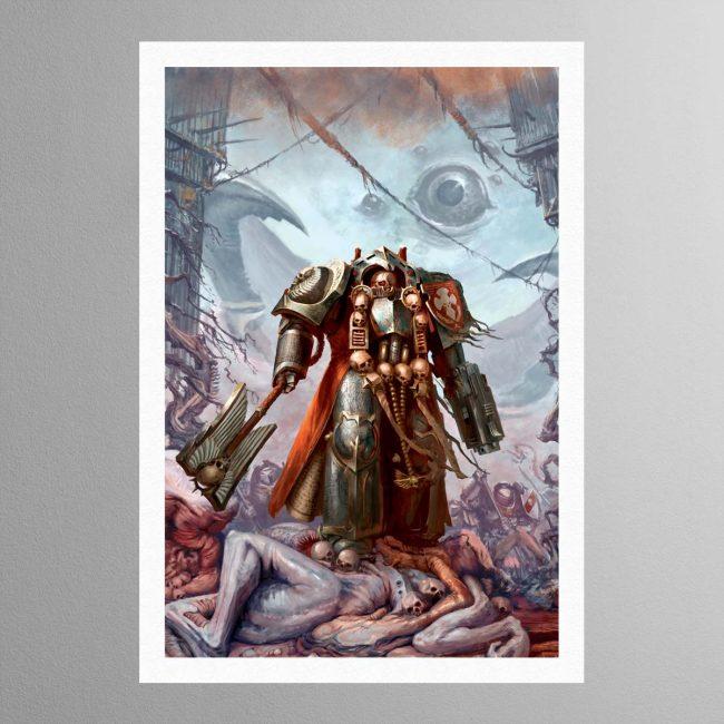 Grey Knights Chaplain – Print