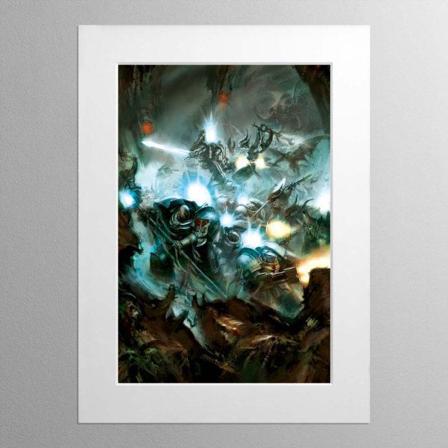 Grey Knights – Mounted Print