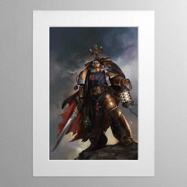 High Marshal Helbrecht – Mounted Print