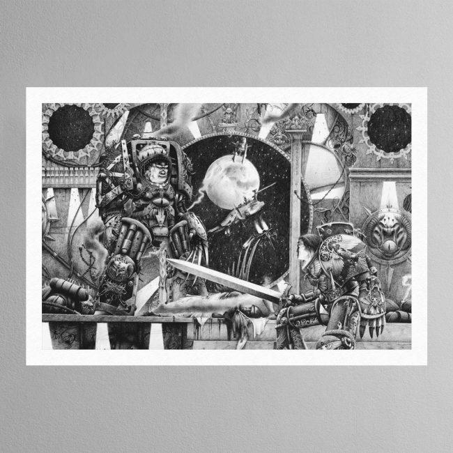 Horus Vs The Emperor (1990) – Print