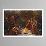 Horus Vs The Emperor (2004) – Print