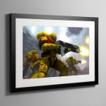 Imperial Fists – Frame Print