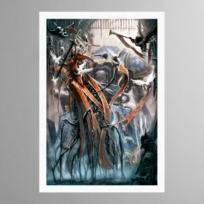 Imperial Knight And Lady – Print