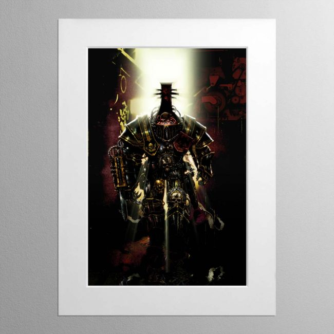 Inquisitor Tyrus – Mounted Print
