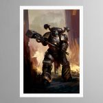 Iron Warriors Chaos Space Marine – Print
