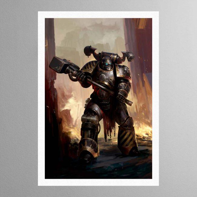 Iron Warriors Chaos Space Marine – Print
