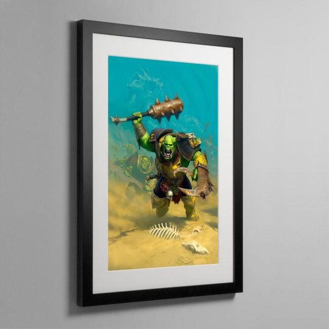 Ironjawz – Frame Print
