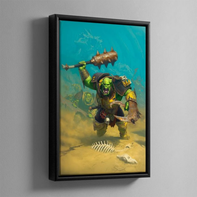Ironjawz – Framed Canvas