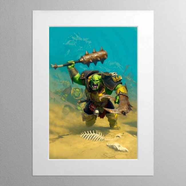 Ironjawz – Mounted Print