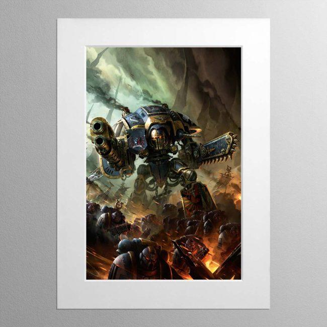 Knight Errant – Mounted Print