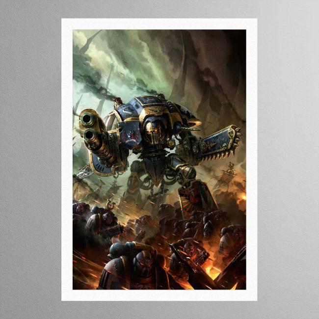 Knight Errant – Print