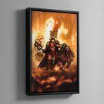 Korghos Khul – Framed Canvas