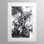 Last Stand – Mounted Print