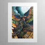 Lord Of Change – Mounted Print
