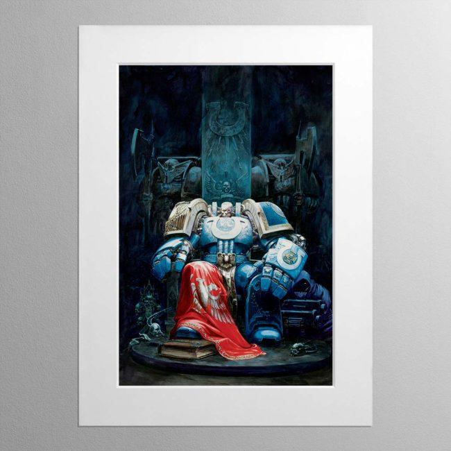 Marneus Calgar – Mounted Print