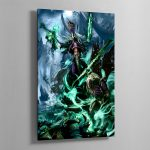 Nagash, Lord of the Undead – Aluminium Print