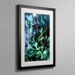 Nagash, Lord of the Undead – Frame Print