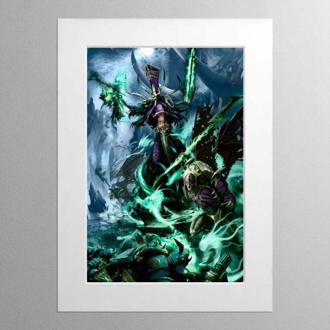 Nagash, Lord of the Undead – Frame Print – Mounted Print
