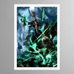 Nagash, Lord of the Undead – Frame Print – Print