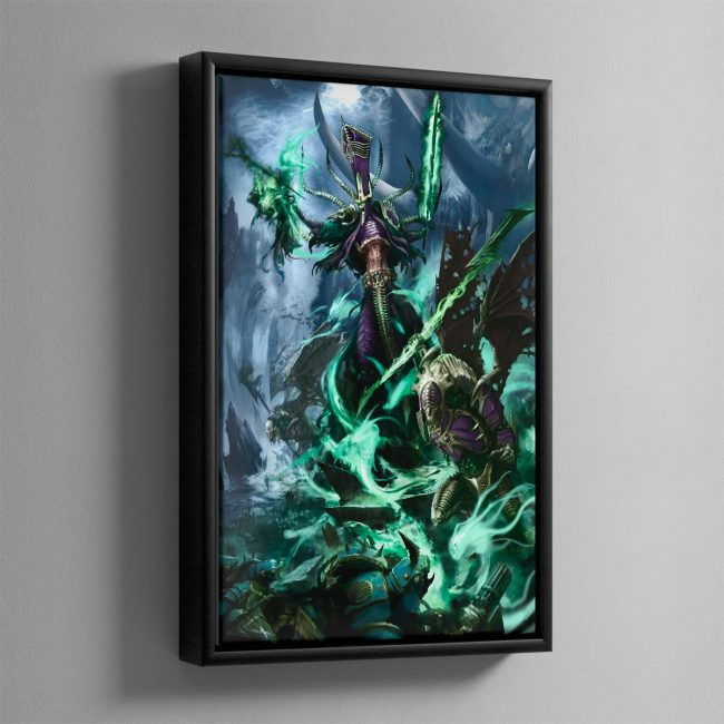 Nagash, Lord of the Undead – Framed Canvas