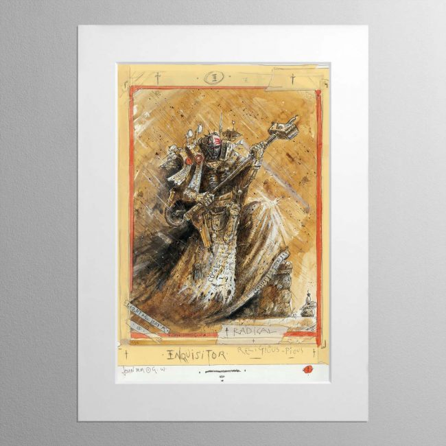 Radical Inquisitor – Mounted Print