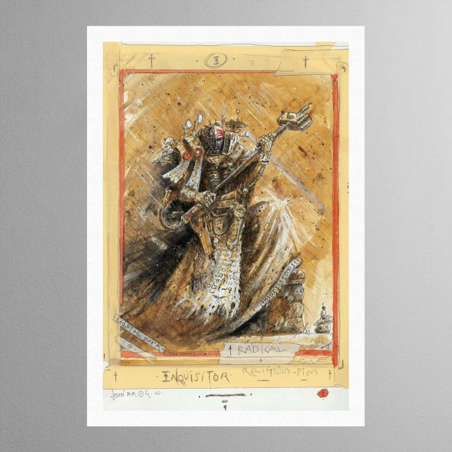 Radical Inquisitor – Print