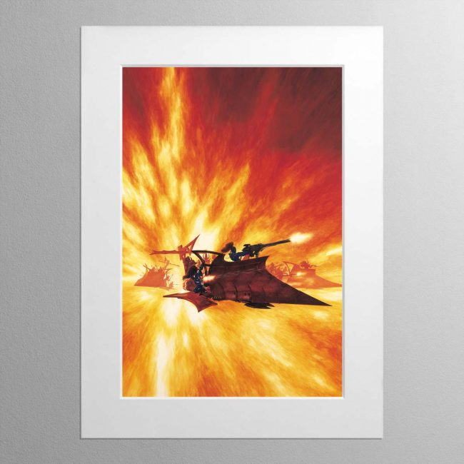 Raider – Mounted Print