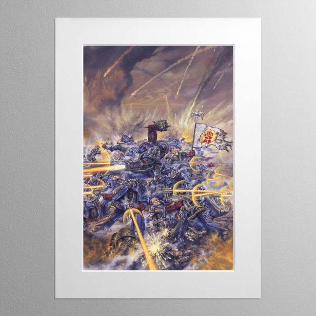 Rogue Trader – Mounted Print