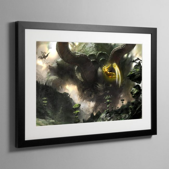 Sigmar in the Age of Myth – Frame Print