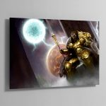 Sigmar, the God-King – Aluminium Print