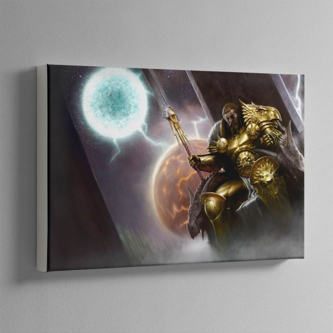 Sigmar, the God-King – Canvas