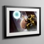 Sigmar, the God-King – Frame Print