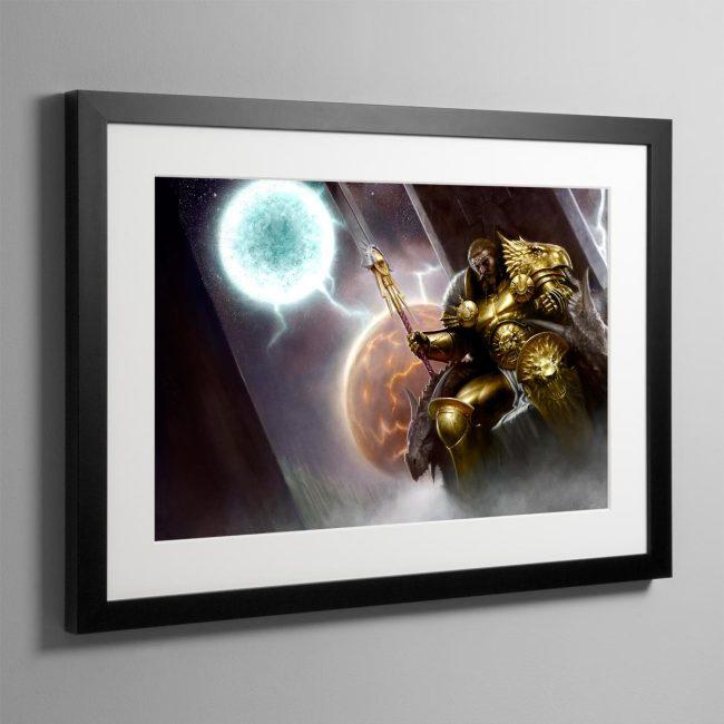 Sigmar, the God-King – Frame Print
