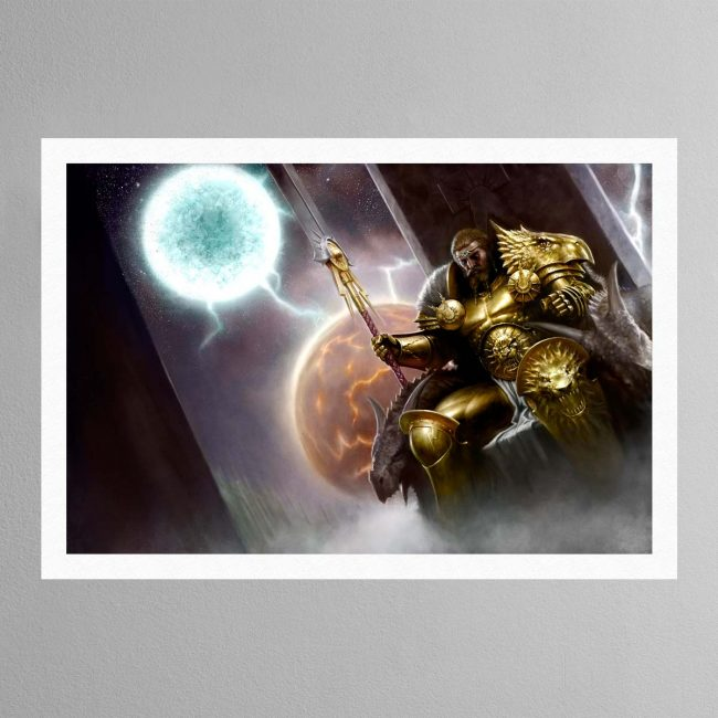 Sigmar, the God-King – Print