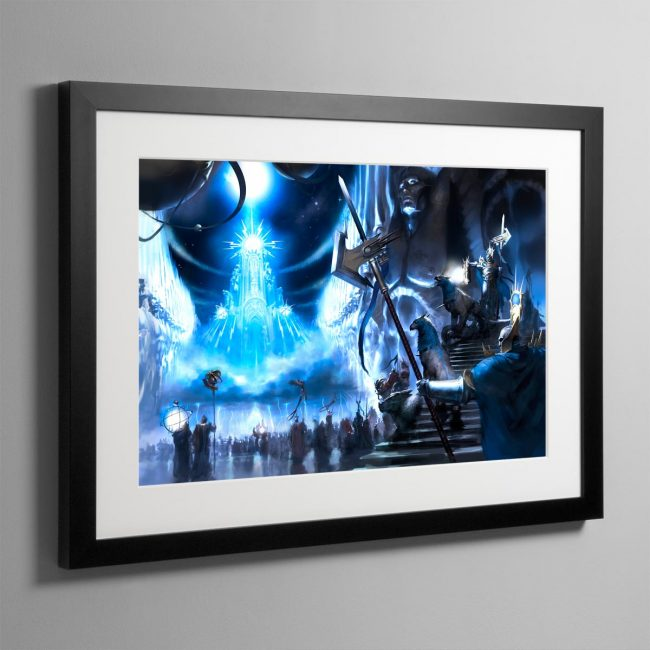 Sigmaron in the Realm of Azyr – Frame Print