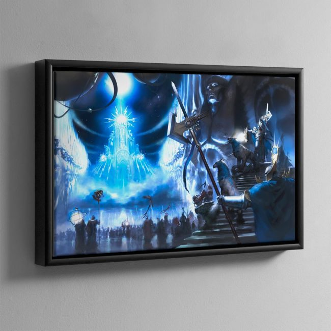 Sigmaron in the Realm of Azyr – Framed Canvas