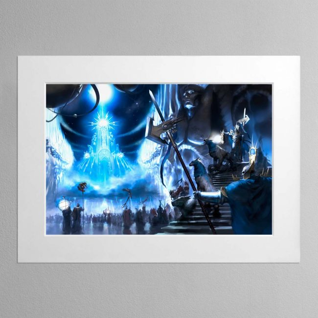 Sigmaron in the Realm of Azyr – Mounted Print
