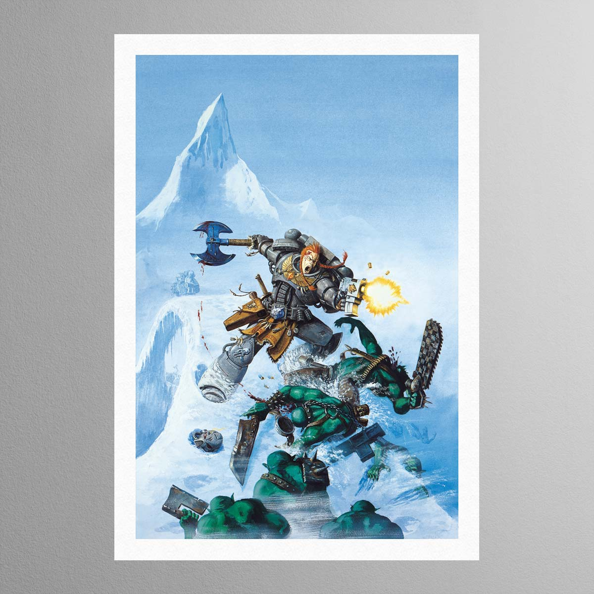 Space Wolves Cover Warhammer Art