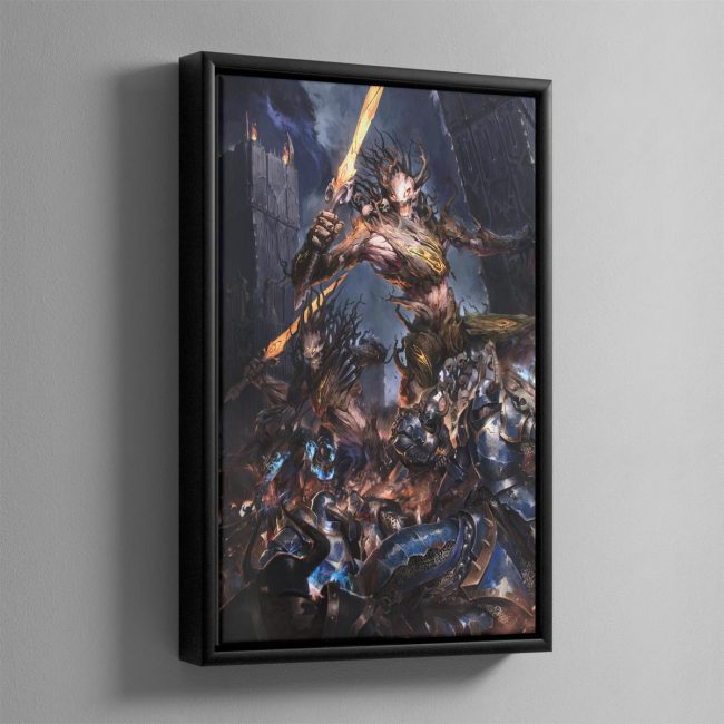Spirit of Durthu – Framed Canvas