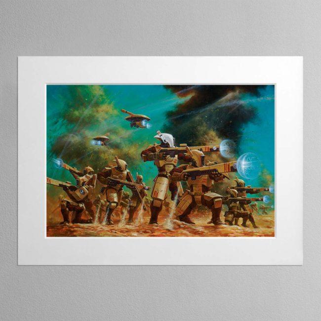 Tau Pathfinders – Mounted Print