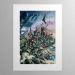 The Astra Militarum – Mounted Print