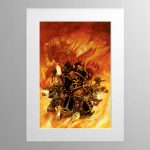 The Black Legion – Mounted Print
