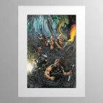The Catachan Jungle Fighters – Mounted Print