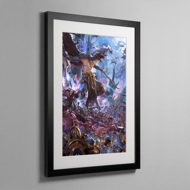 The Changehost of Tzeentch – Frame Print