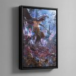 The Changehost of Tzeentch – Framed Canvas