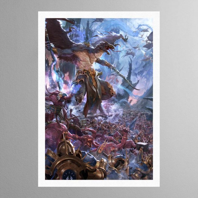 The Changehost of Tzeentch – Print